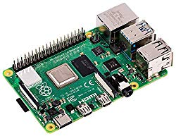 Raspberry PI 4 model B image