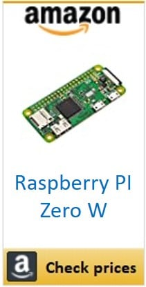 Amazon raspberry pi Zero W box