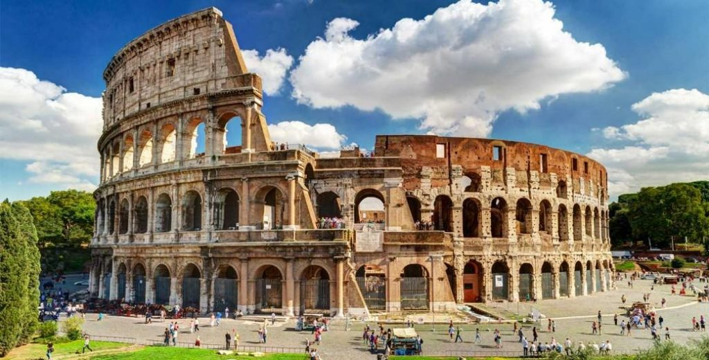 colosseum image after opencv RGB conversion